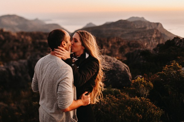 Cape Town engagement shoot - Bobby & Kathryn