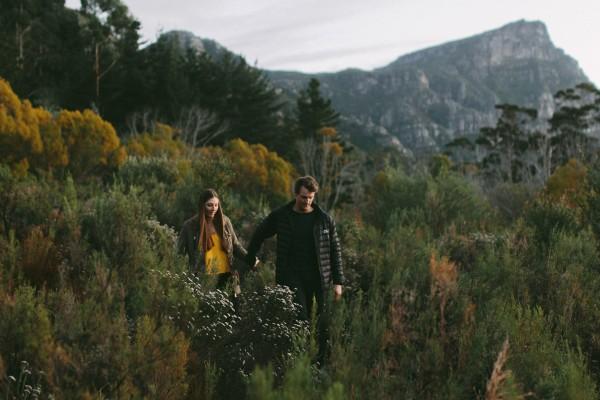 Dani & Damian's early morning engagement shoot