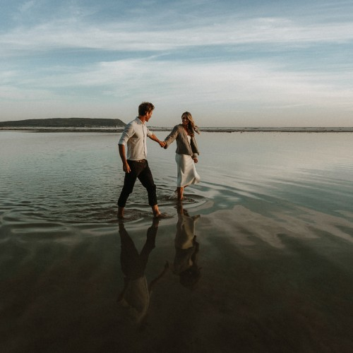 Scott & Megan's Noordhoek Beach Engagement Shoot