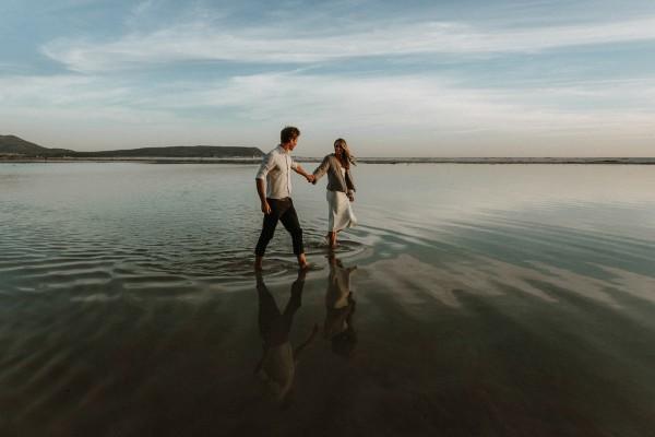 Scott & Megan's Noordhoek Beach Engagement Shoot